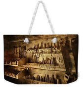 Carpenter's Workroom Weekender Tote Bag