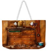 Carpentry - Tools - In My Younger Days  Weekender Tote Bag by Mike Savad