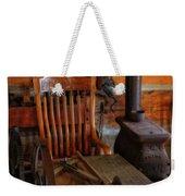 Carpentry Workshop Weekender Tote Bag