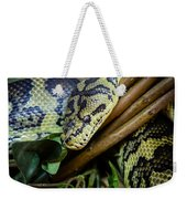 Carpet Python  Weekender Tote Bag