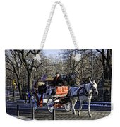 Carriage Driver - Central Park - Nyc Weekender Tote Bag