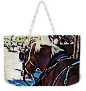Carriage Horse Weekender Tote Bag