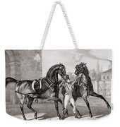 Carriage Horses For The King Weekender Tote Bag