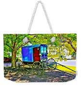 Amish Carriage Weekender Tote Bag