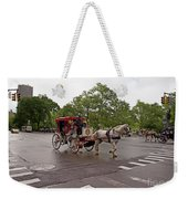 Carriage Ride In Central Park Weekender Tote Bag