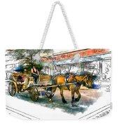 Carriage Ride Weekender Tote Bag