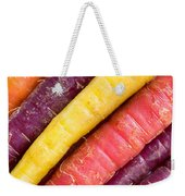Carrot Rainbow Weekender Tote Bag