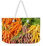 Carrots At The Market Weekender Tote Bag