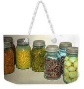 Carrots Vintage Kitchen Glass Jar Canning Weekender Tote Bag