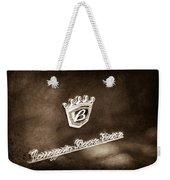 Carrozzeria Boano Emblem Weekender Tote Bag