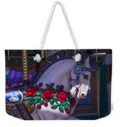 Carrsoul Horse With Roses Weekender Tote Bag
