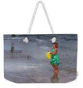 Carrying Water Weekender Tote Bag