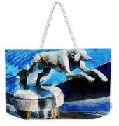 Cars - Lincoln Greyhound Hood Ornament Weekender Tote Bag