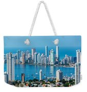 Cartagena Skyscapers Weekender Tote Bag