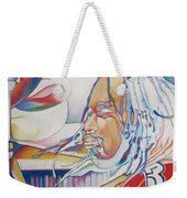 Carter Beauford Colorful Full Band Series Weekender Tote Bag