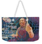 Carter Beauford Pop-op Series Weekender Tote Bag by Joshua Morton