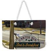 Carter Run Inn 1 Weekender Tote Bag