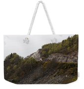 Cartoon - Wire Mesh Holding Up A Crumbling Hillside In The Scottish Highlands Weekender Tote Bag