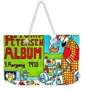 Cartoon 01 Weekender Tote Bag by Svetlana Sewell