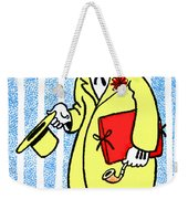 Cartoon 04 Weekender Tote Bag by Svetlana Sewell
