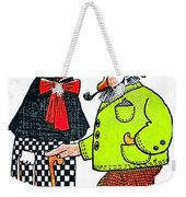 Cartoon 08 Weekender Tote Bag by Svetlana Sewell