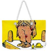Cartoon 09 Weekender Tote Bag by Svetlana Sewell