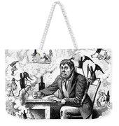 Cartoon Alcoholism, 1874 Weekender Tote Bag