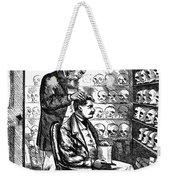 Cartoon: Phrenology, 1865 Weekender Tote Bag