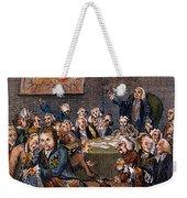 Cartoon: Politicians Weekender Tote Bag