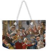 Cartoon: The Smoking Club Weekender Tote Bag