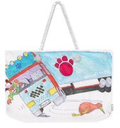 Cartoon Truck Lorry Weekender Tote Bag