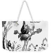 Cartoon: World War II Weekender Tote Bag