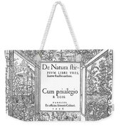 Cartouches, 1536 Weekender Tote Bag