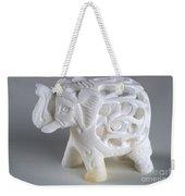 Carved Elephant Weekender Tote Bag