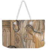 Carved In Wood Weekender Tote Bag