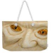Carved Pumpkin Face Weekender Tote Bag