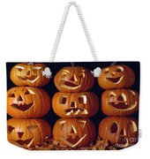 Carved Pumpkins  Weekender Tote Bag