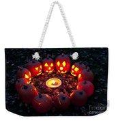 Carved Pumpkins With Pumpkin Pie Weekender Tote Bag