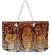 Statue At The Temple Of The 64 Yoginis - Jabalpur India Weekender Tote Bag
