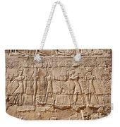 Carvings At The Temple Of Karnak Weekender Tote Bag