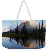 Cascade Mirror Weekender Tote Bag by Mike  Dawson