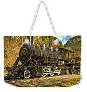 Cascade Mountain Train Weekender Tote Bag