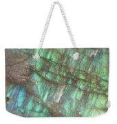 Cascade Of Green Weekender Tote Bag