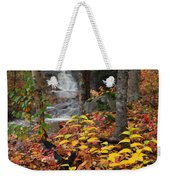 Cascade Creek  Autumn Weekender Tote Bag