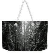 Cascade Snow Weekender Tote Bag
