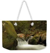 Cascades In Appalachian Mountains Weekender Tote Bag