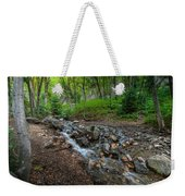 Cascades Of The Forest Weekender Tote Bag