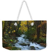Cascades On The Motor Nature Trail Weekender Tote Bag