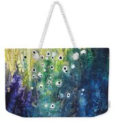 Cascading Colors Weekender Tote Bag