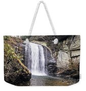 Cascading Into A Pool Weekender Tote Bag